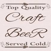 Top quality craft beer  — Stock Vector