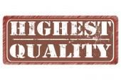 最高の品質 — ストックベクタ