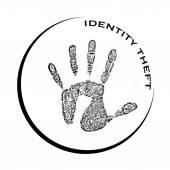 Identity theft — Stock Vector
