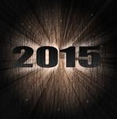 2015-neujahr — Stockvektor