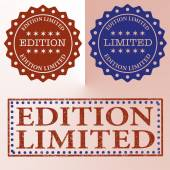 Edition limited — Stock Vector