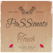 Passionate touch — Stock Vector