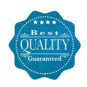 Beste kwaliteit gegarandeerd — Stockvector