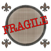 Fragile — Stock Vector