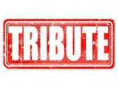 Tribute — Stock vektor