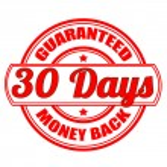 Money back guaranteed — Stock Vector #60649989