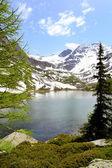 Glacial lake Arpy — Stock Photo