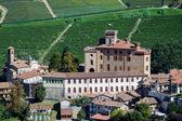 Castle and Church of Barolo — Stock Photo