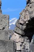 Roman Theatre in Aosta — Stock Photo