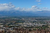 Turin and Piedmont Alps — Stock Photo