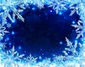 Snowflakes background for Christmas — Stock Photo
