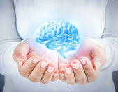 Develop the talent, protecting the intellect — Stock Photo