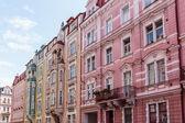 Historical Buildings in Karlovy Vary, Carlsbad — Stock Photo