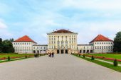 Castle Nymphenburg — Stock Photo