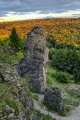 Jurassic Hills of Franconia — Stock Photo