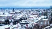 Bamberg Winter city — Stock Photo