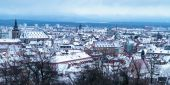 Bamberg Winter city — Foto de Stock