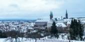 город зимы бамберга — Стоковое фото