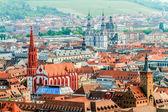 Wuerzburg Cityscape — Stock Photo