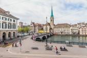 Zurich Inner City, Switzerland — Stock Photo