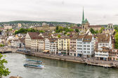 Zurich City in the Switzerland — Stock Photo