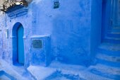 Chefchaouen streets — Stock Photo