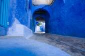 Chefchaouen ulice — Stock fotografie