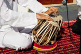 Traditional indian tabla drums — Stock Photo