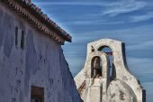 Bell tower of Marvao, Portugal — Stock Photo