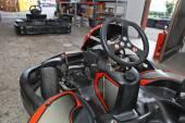 Machine karts — Stock Photo