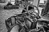 Machine karts — Stockfoto