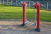 общественная упражнение оборудование — Стоковое фото