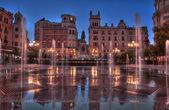 Tendillas fountain — Foto de Stock