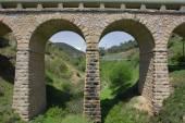 Modern aqueduct — Stock Photo