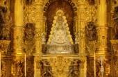 Virgin of El Rocio altar — Stock Photo