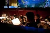 Orkest van de opera — Stockfoto