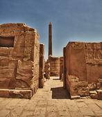 Obelisk of Queen Hapshetsut — Stock Photo