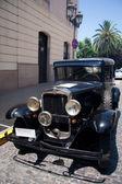 1950 black Chevrolet — Stock Photo