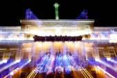 Town Hall lights — Stock Photo