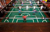 Old table football — Fotografia Stock