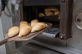 Some fresh baked bread — Stockfoto