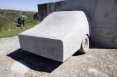 Concrete car — Photo