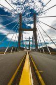 Överbrygga på motorvägen från mexico city till acapulco vertikala — Stockfoto