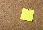 New year Blank Resolutiosn Post it note with copy space — Stock Photo
