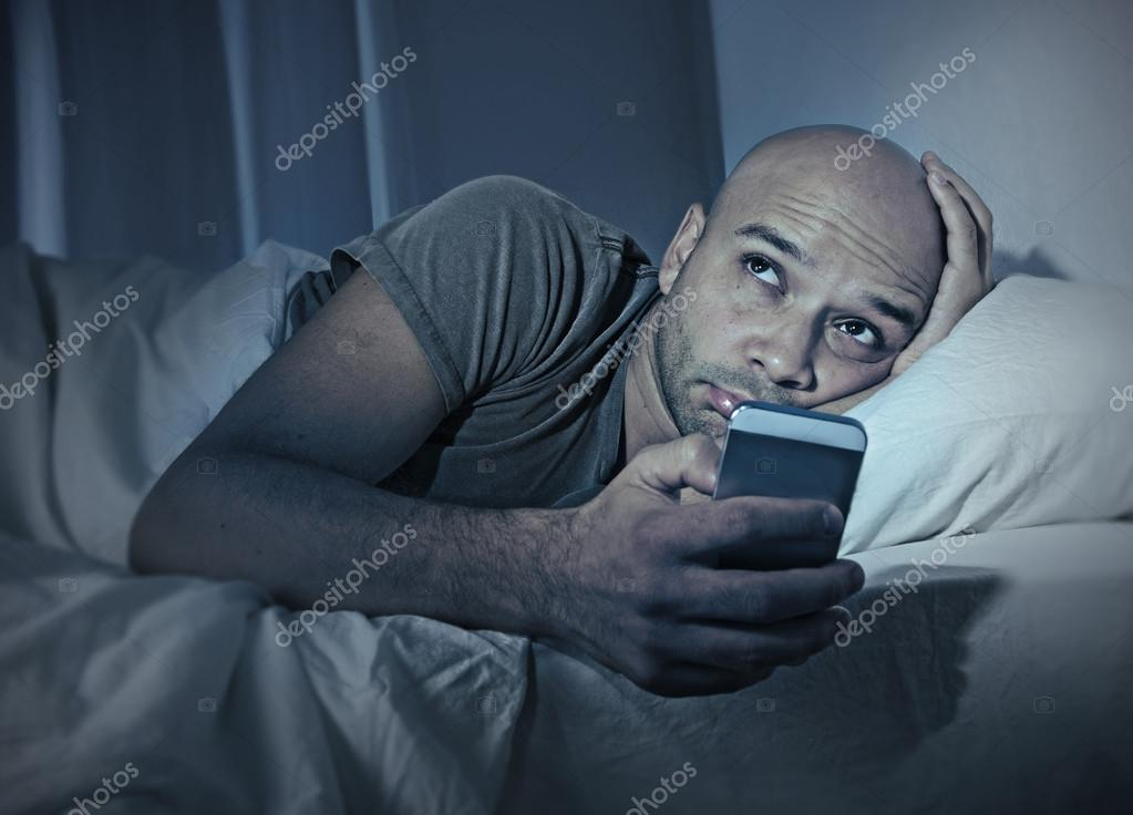 Sleeping With Phone By Bed