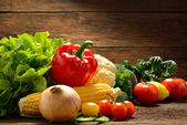 蔬菜和水果 — 图库照片