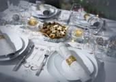 Festliche restaurants — Stockfoto