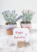 Shield happy valentine — Stok fotoğraf