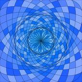 Vetor abstrato azul base geométrica — Vetor de Stock