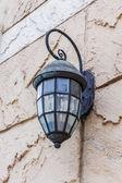 Lanterna d'epoca a parete — Foto Stock